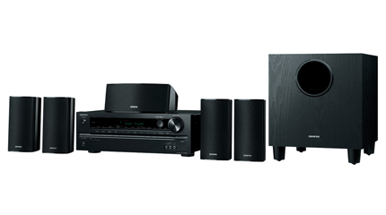 5 1-channel home theater receiver/speaker package
